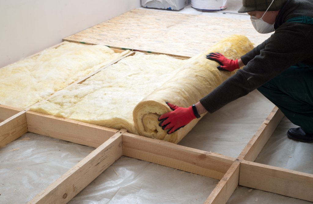 Insulate your walls and attic