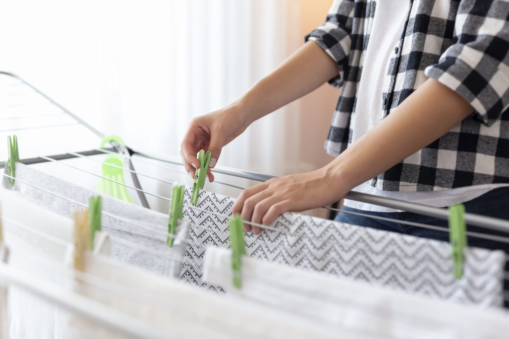 Save energy in spring by drying clothes naturally
