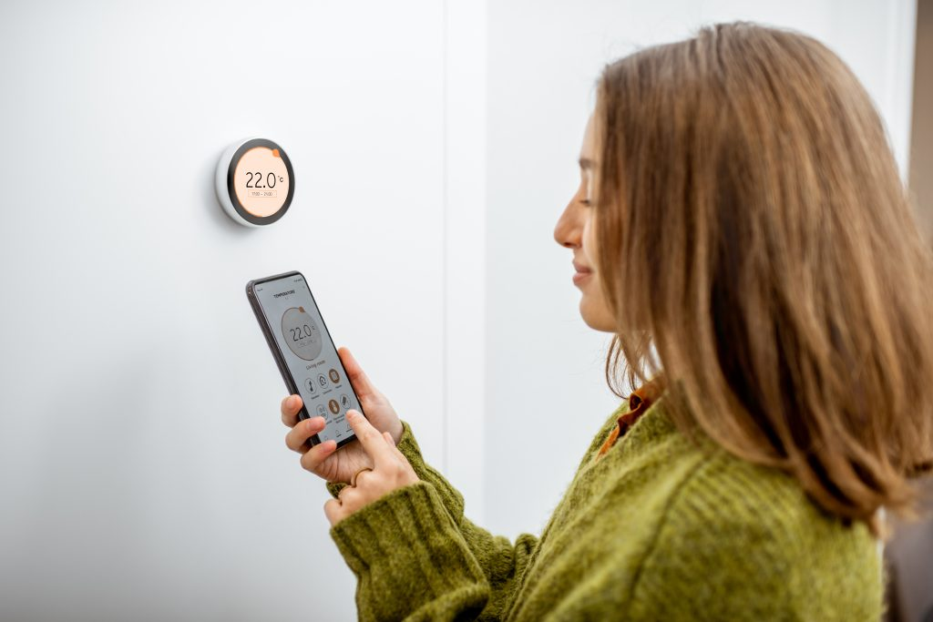 Install a smart thermostat